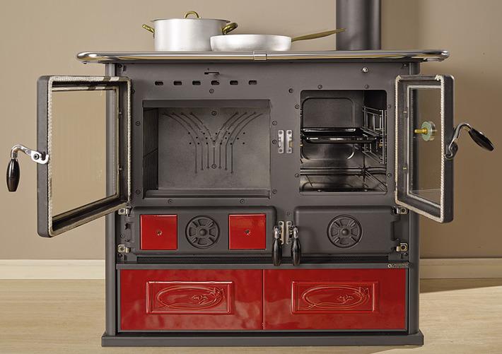 La Nordica Rosa Reverse Piec kuchenny Kuchnia