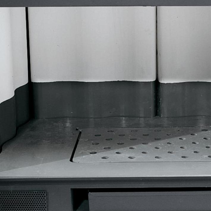La Nordica Inserto 50 Verticale Crystal BII Ventilato Wkład kominkowy