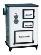 Piec kuchenny Kuchnia Wamsler TEA biała lewy bok