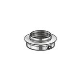 Poujoulat Pierścień Nasadowy (z 1 obejmą łączącą) fi 80mm