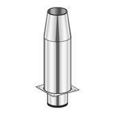 Poujoulat Przedłużenie Komina 80mm (izolowane) fi 100mm