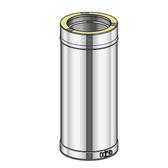 Poujoulat Element Prosty 500mm (z 1 obejmą łączącą) fi 80mm
