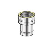 Poujoulat Złączka dwuścienny - jednościenny fi 80mm