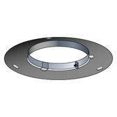 Poujoulat Rozeta niewentylowana z mocowaniem magnetycznym (czarna) fi 80mm
