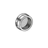 Poujoulat Zaślepka z siatką (tylko do podciśnienia) (z jedną obejmą łączącą) fi 80mm