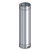 Poujoulat Element Prosty 500mm (z 1 obejmą łączącą) fi 80/100mm