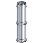 Poujoulat element regulowany 39-64cm (z 1 obejmą łączącą) tylko montaż poziomy fi 80/130mm